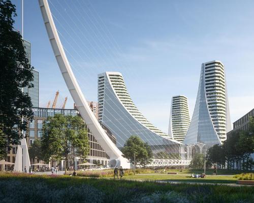 Peninsula Place is Calatrava's first major scheme in London / Uniform