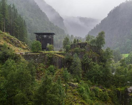 Zumthor completed the Allmannajuvet zinc mine museum in Sauda, Norway, in September 2016