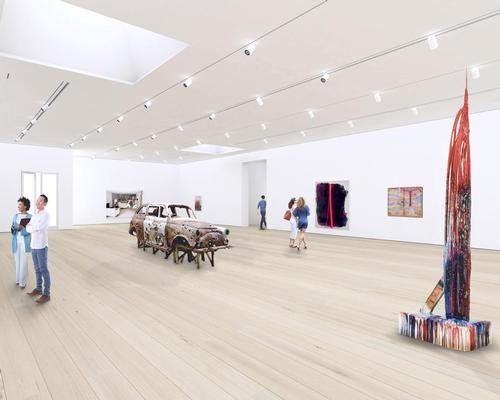 LA-based architecture firm Michael Maltzan (MMA) will head up the project, which will feature two new major galleries
