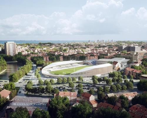 The ageing Stade Marcel-Tribut will be re-designed and expanded by 2,000 seats to hold 5,000 spectators