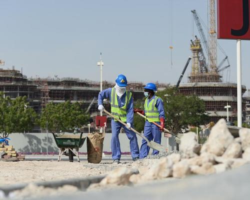 Qatar has awarded 90 per cent of the design and build contracts for the tournament, with the majority of these projects to be delivered in the next two years / Andreas Gebert DPA/PA Images
