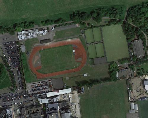 The Championship football club wants to demolish the athletics venue and build a stadium on the site alongside a new adjacent athletics facility / Google Earth