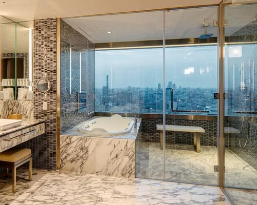 Panoramic views of the city and the skyline are available throughout the hotel / Ed Reeve