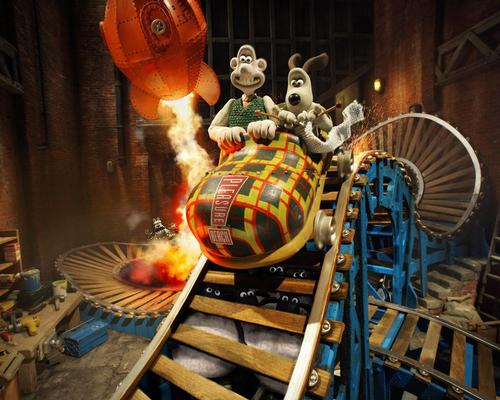 There are potential plans for an entire theme park based on Aardman IPs / Blackpool Pleasure Beach