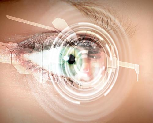 The technology could record live video or project images into the eye using a simple blink to switch it on or off