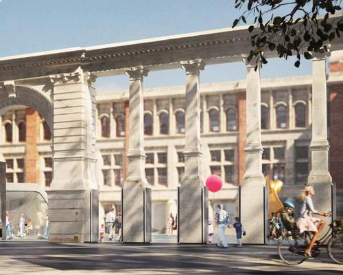The renovation has broken down the separation between the street and the museum / AL_A and V&A
