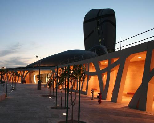 The building is set to open later this year / King Abdulaziz Center for World Culture