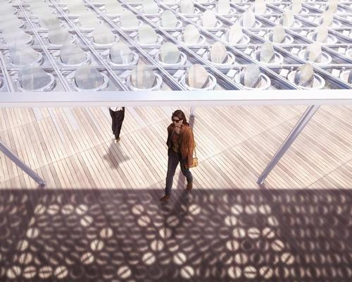 The canopy can be used to generate shadow drawings / Carlo Ratti Associati