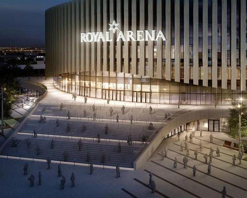 The venue has been opened by Denmark's Crown Prince / Royal Arena and 3XN Architects
