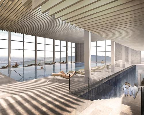 The new spa is among the largest and most modern in Europe / Burgenstock Resort
