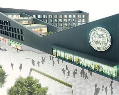 The proposal, which also includes a ticket office and retail store, will be submitted to Glasgow City Council for approval