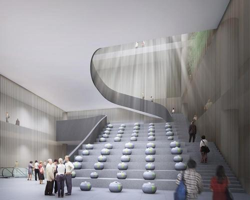 The museum would showcase many of China's cultural treasures / WKCDA
