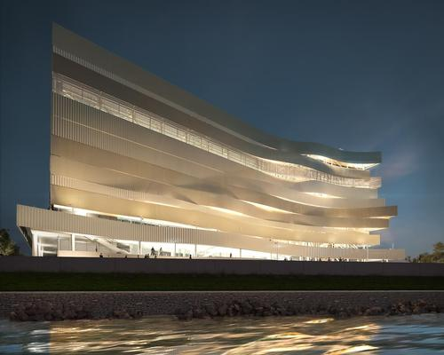 The Dagály Budapest Aquatics Complex will host the next World and European swimming championships / Axion Visual