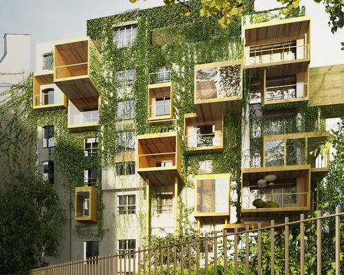 Outdoor gardens and green walls add to the sense of being surrounded by nature / Malka Architecture
