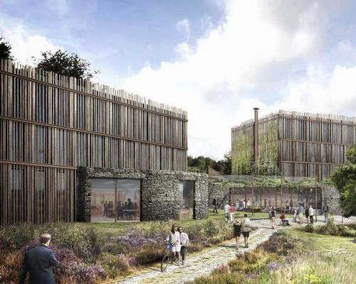 Accessibility, energy-efficiency and sustainability are the key features of the design, by architectural studio Tate Harmer / Eden Project