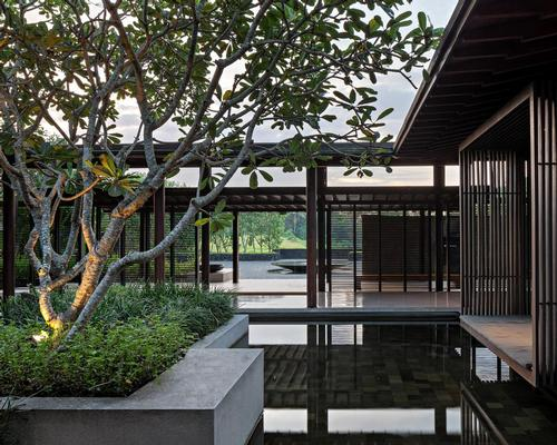 Local materials have been used, to help the resort blend in with local communities / Soori Bali