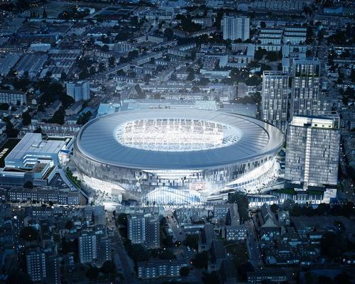 When the plans were originally revealed, the 61,000-capacity stadium was expected to cost around £400m