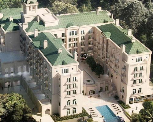 Oscar Niemeyer's long lost São Paulo palace reimagined as luxury Oetker Collection hotel
