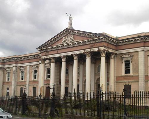 The courthouse has been in a state of disrepair for some time