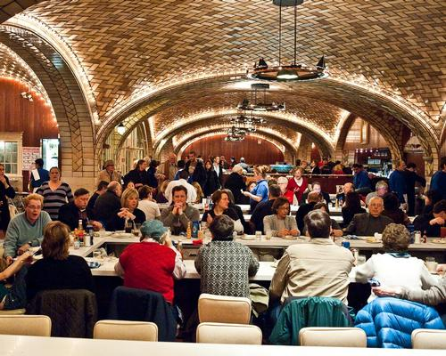 The Grand Central Oyster Bar and Restaurant in New York has won the Design Icon Award