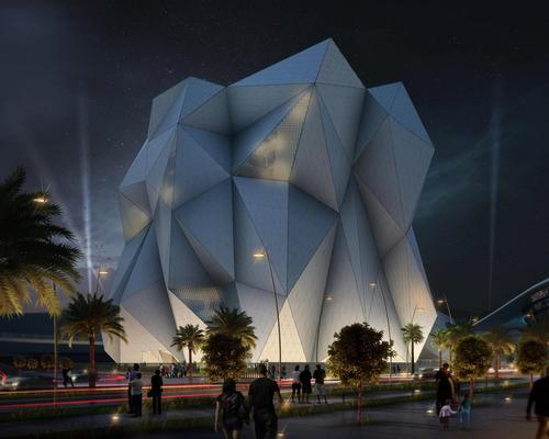 CLYMB will boast the world's widest flight chamber and tallest indoor climbing wall / Miral