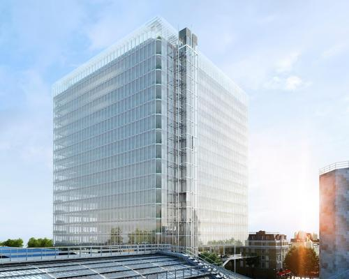 The building will be lifted 12m (39ft) above a stretch of public realm covering an acre / Sellar Property Group