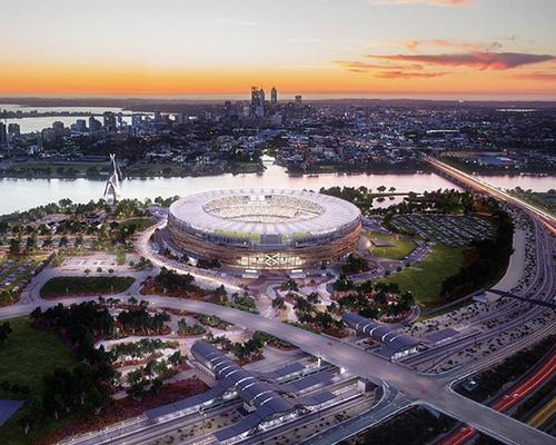 The stadium is due to be completed before the start of the 2018 AFL league