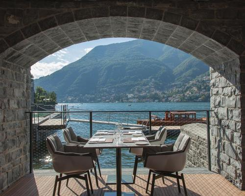 Terraces throughout the hotel offer beautiful lake views / Patricia Parinejad