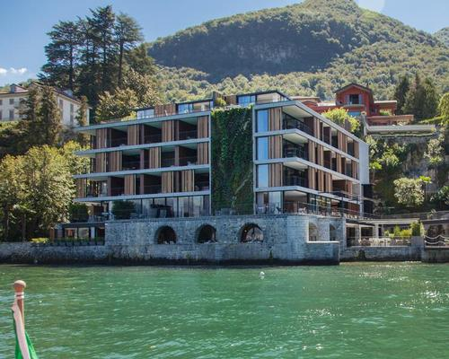 The hotel can be reached by boar, with one vessel designed by Urquiola herself / Patricia Parinejad