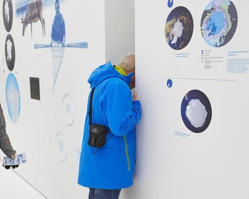 "Visitors are led on ""an immersive and amusing path"" through the world of sea ice, which takes them through the various galleries / Espace des Mondes Polaires"