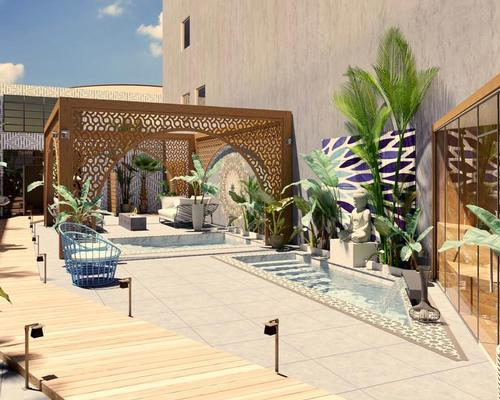 New spa and social club will promote relaxation and connection
