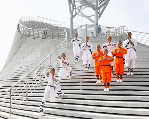 The theatre will be used by the Shaolin Flying Monks Theatre / Ansis Starks