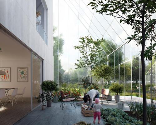 The idea for the communities is to address the challenges of a growing population, increasing urbanisation, scarcity of resources and the growing global food crisis / EFFEKT Architects