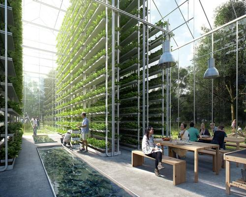 Public kitchens and gardens will be among the leisure offerings in the villages / EFFEKT Architects