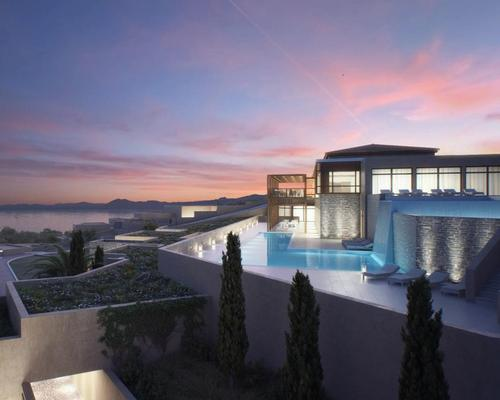 The spa is part of a larger expansion of the five-star Eagles Palace resort, which also includes the addition of 42 Eagles Villas