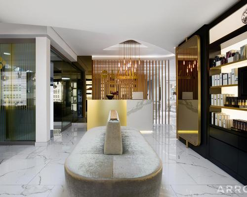 Lume Beauty Atelier was created by local interior designers ARRCC and Stefan Antoni Olmesdahl Truen Architects / Lume Beauty Atelier