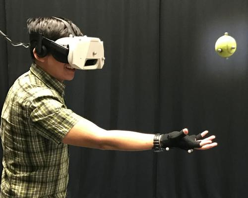 Disney Research laboratories show combining virtual and physical dynamic interactions in VR is feasible / Disney Research