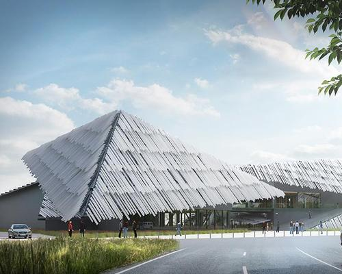 Kengo Kuma's planned visitor attraction for Yangcheng Lake / Kengo Kuma and Associates