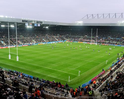 St James' Park hosted matches from the 2015 Rugby World Cup / Owen Humphreys/PA Archive/PA Images