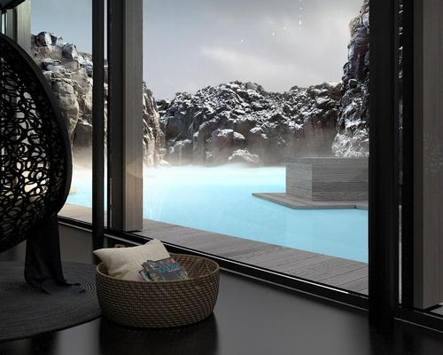 Built into an 800-year-old lava flow on the south shore of the Blue Lagoon, the spa – dubbed Lava Cove – is designed to be a convergence of nature, architecture and the power of geothermal seawater