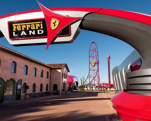 Ferrari Land opens at PortAventura, near Barcelona in Spain