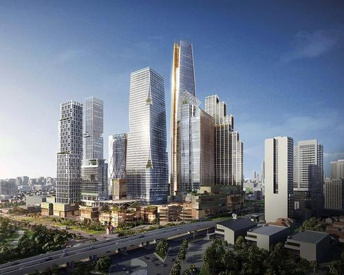 The development is billed as Thailand's largest to date / SOM