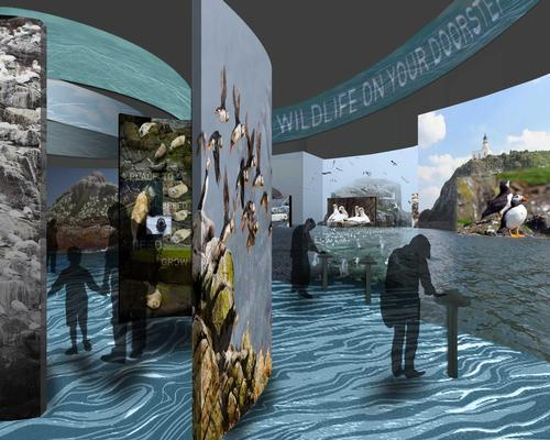 The Scottish Seabird Centre is hoping to expand and update the experience