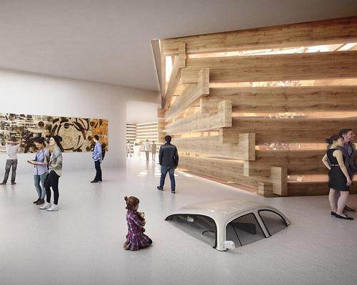 The museum will showcase a collection of Turkey's contemporary modern art / Kengo Kuma and Associates