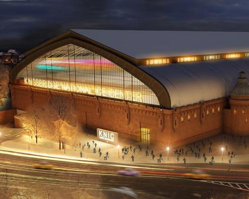 Kingsbridge Armory National Ice Center includes a wellness centre and a 5,000-capacity arena for regional and international ice hockey fixtures / New York Economic Development Corporation