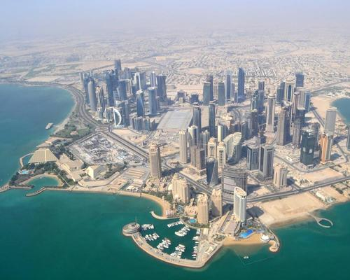 The Fifth Precinct Stadium stadium is being built in Doha's Al Thumama district / Marc Desbordes