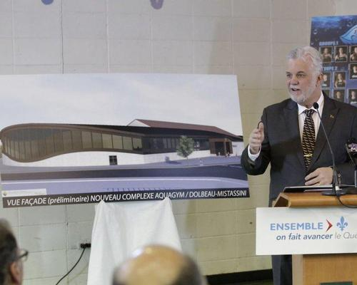 The premier of Quebec, Philippe Couillard, added the new facility will encourage people to adopt an active lifestyle / Philippe Couillard, Twitter