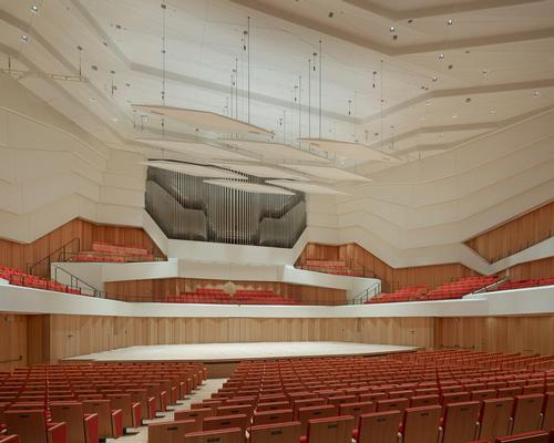 Dresden's new concert hall / Christian Gahl
