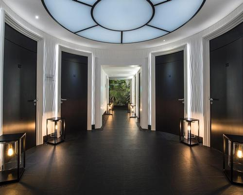 Designed by architect Didier Gomez, the Spa Metropole by Givenchy features 10 treatment rooms