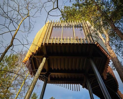 Treetop sauna, Scandinavian Snug, and Forest Meditation room: Center Parcs' new Forest Spa concept debuts in the land of Robin Hood